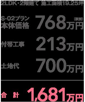 合計1,681万円